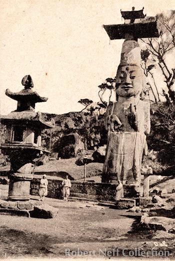 Gwanchoksa Temple, circa 1900s. Robert Neff Collection