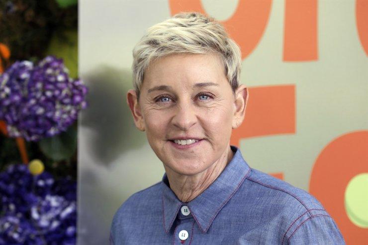 Ellen DeGeneres attends the premiere of Netflix's