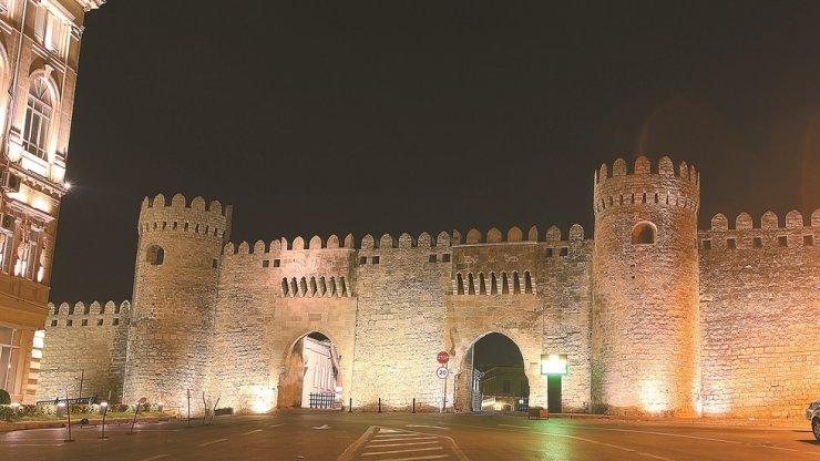 The fortress walls of the UNESCO-registered Icheri Sheher in Azerbaijan / Courtesy of Embassy of Azerbaijan