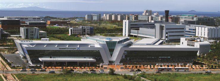 Huneed Technologies' headquarters in Incheon / Courtesy of Huneed Technologies
