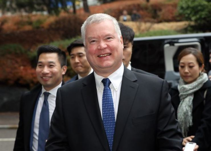 U.S. Deputy Secretary of State Stephen Biegun / Korea Times file