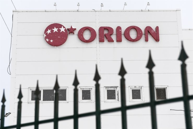 Orion confectionery factory in Novosibirsk, Russia / Yonhap