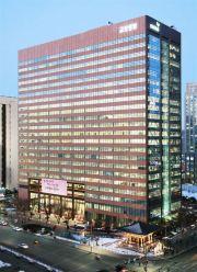 Kyobo Life Insurance's headquarters in central Seoul