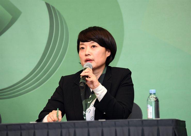Naver CEO Han Seong-seook / Korea Times file