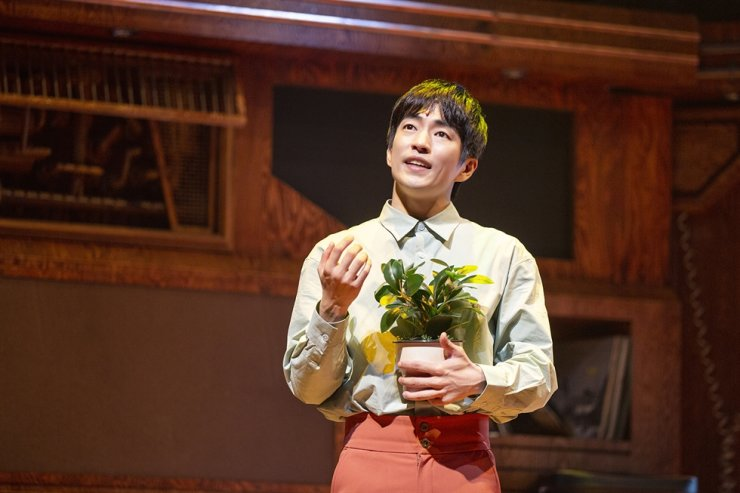 Jung Moon-sung as Oliver in 'Maybe Happy Ending' / Courtesy of CJ ENM