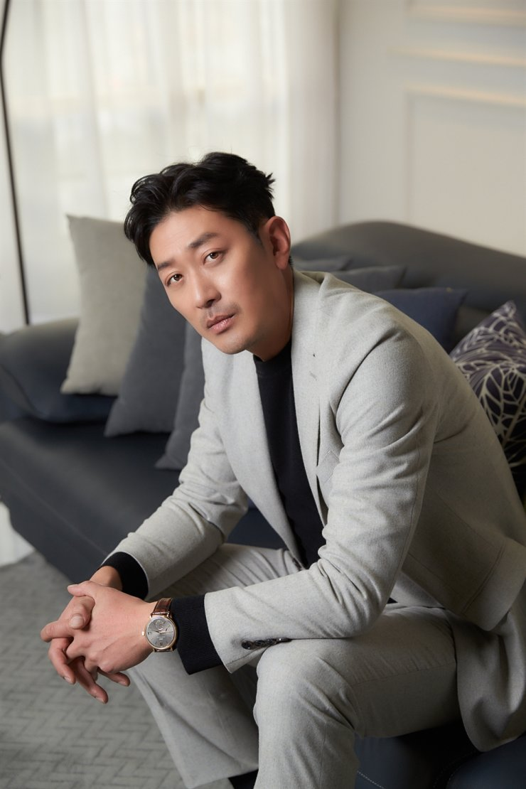 Actor Ha Jung-woo was summoned for questioning at the Seoul Central District Prosecutors' Office. Courtesy of CJ ENM