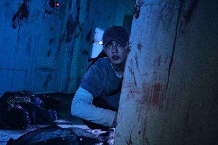 Yoo Ah-in stars in film '#ALIVE.' Courtesy of Lotte Entertainment