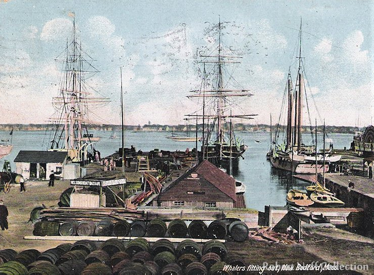 New Bedford, Mass., in the late 19th century. Robert Neff Collection