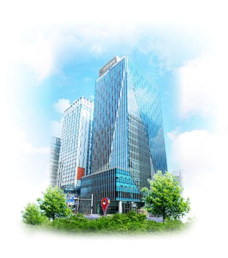 Shinhan Life Insurance's headquarters in central Seoul / Captured from website