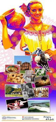 A poster of Paraguayan culture