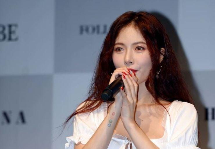 K-pop singer HyunA. /Korea Times file