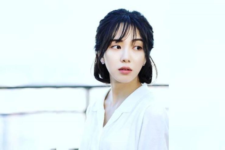 Kwon Mina, a former AOA member, apologized through her social media. Courtesy of Woori Actors