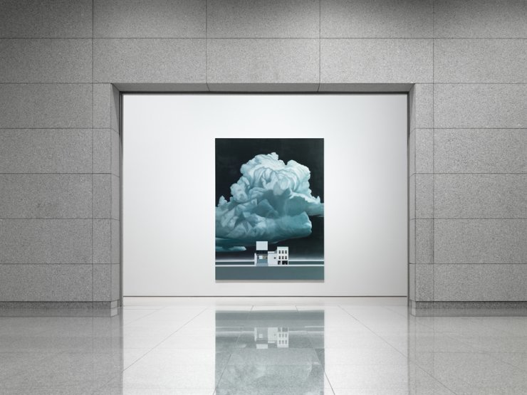 Installation view of Tim Eitel exhibition 'Untitled (2001-2020)' at Daegu Art Museum / Courtesy of Daegu Art Museum