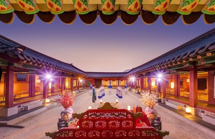 The Gyeongbok Palace Sisikgonggam program offered at Sojubang (the royal kitchen) / Courtesy of Cultural Heritage Administration