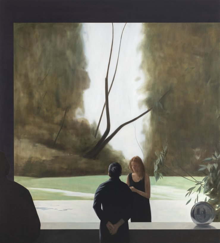Tim Eitel's 'Mexican Garden (2nd View)' (2020) / Courtesy of Daegu Art Museum