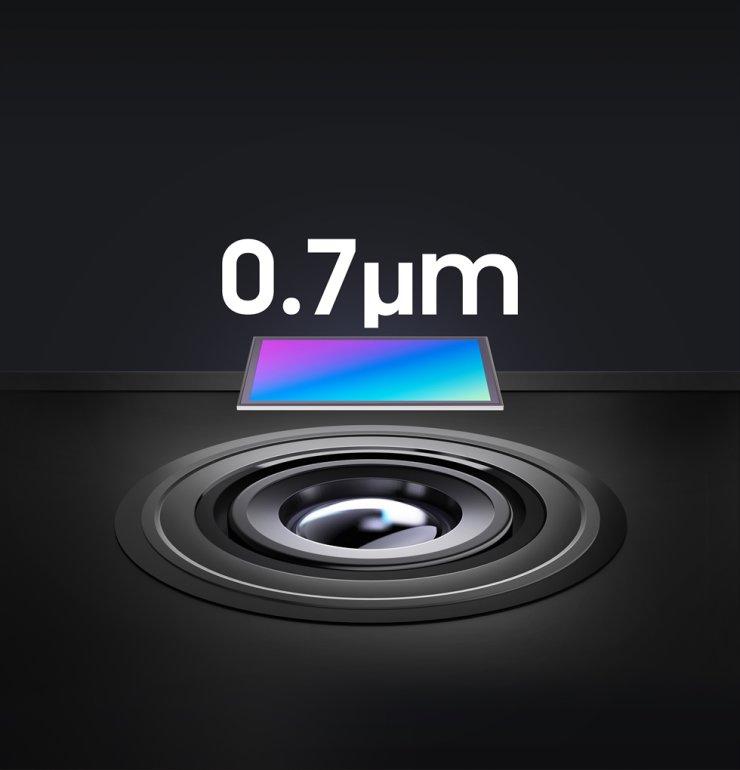 Samsung Electronics 0.7-micrometer pixel-based image sensor / Courtesy of Samsung Electronics