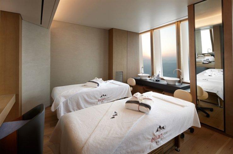 Signiel Seoul's Evian Spa / Courtesy of Lotte Hotel