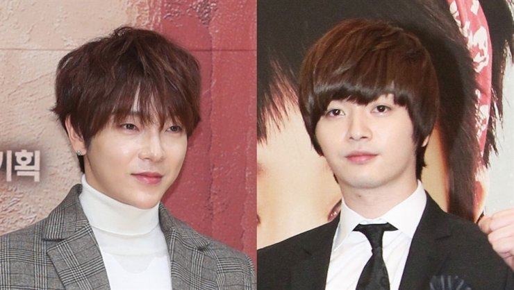 Yunhak, left, and Sungje / Yonhap