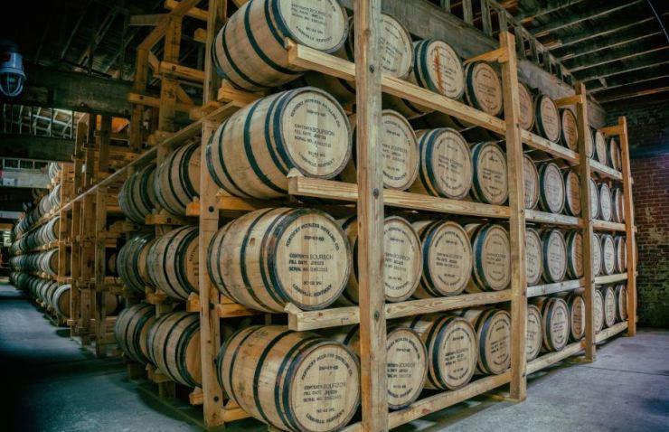 Kentucky whiskey barrels / Courtesy of Brand USA