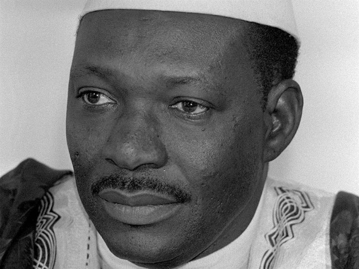 In this Feb. 1984, file photo, Mali's President Moussa Traore is photographed during a visit to Bonn, Germany. Traore, who ruled the West Africa nation for more than 22 years, has died at age 83, according to his son Idrissa Traore on Tuesday, Sept. 15, 2020. AP