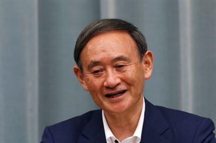 Yoshihide Suga / Reuters-Yonhap
