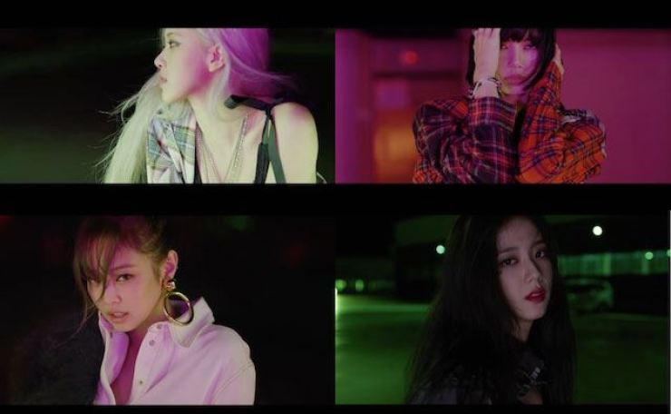 BLACKPINK's first full-length album 'THE ALBUM' will be released on Oct. 2. Courtesy of YG Entertainment