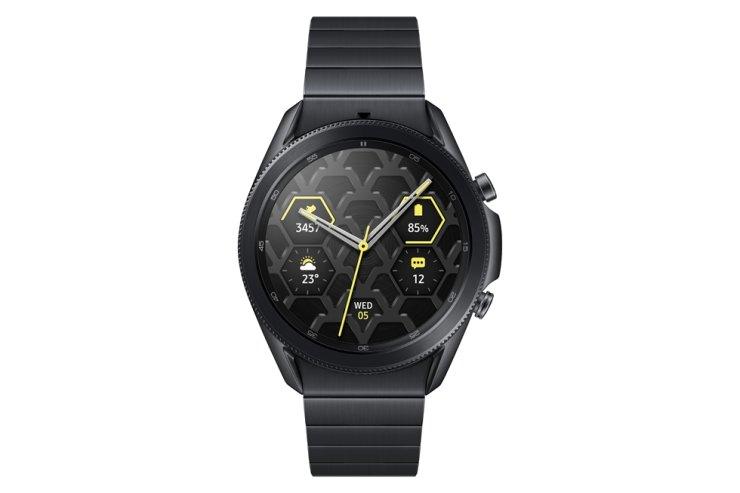 Samsung Electronics titanium model of the Galaxy Watch 3 / Courtesy of Samsung Electronics