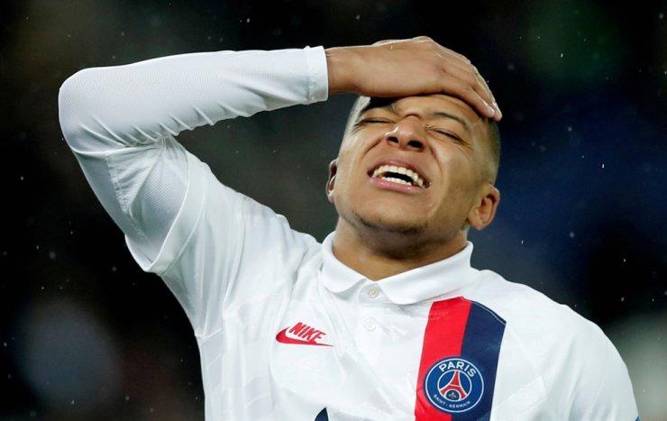 Paris St Germain's Kylian Mbappe / Reuters