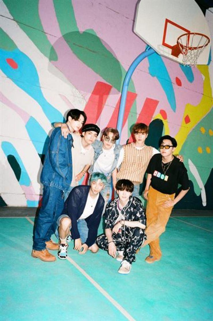 BTS. Courtesy of Big Hit Entertainment