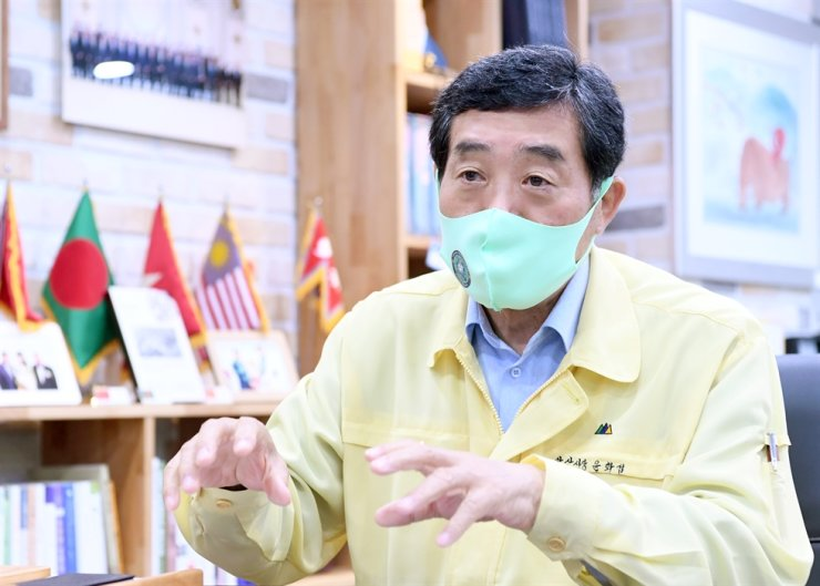 Ansan Mayor Yoon Wha-sub / Courtesy of Ansan City