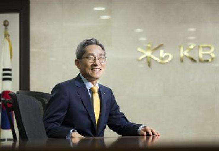 KB Financial Group Chairman Yoon Jong-kyoo