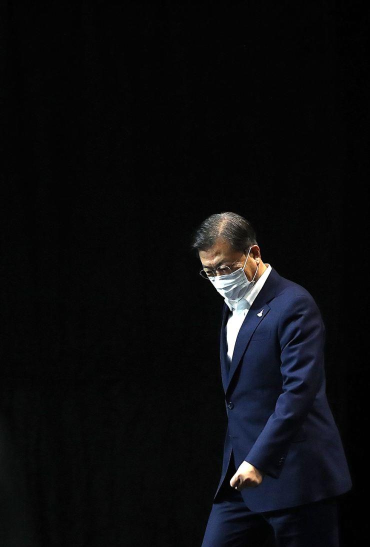 President Moon Jae-in Yonhap