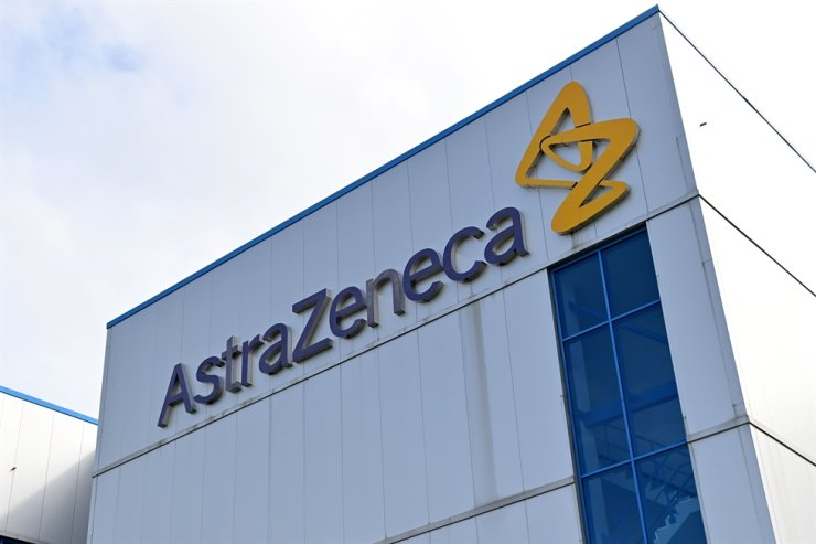 The offices of British-Swedish multinational pharmaceutical and biopharmaceutical company AstraZeneca PLC in Macclesfield, Cheshire is seen in this file photo taken July 21. /AFP
