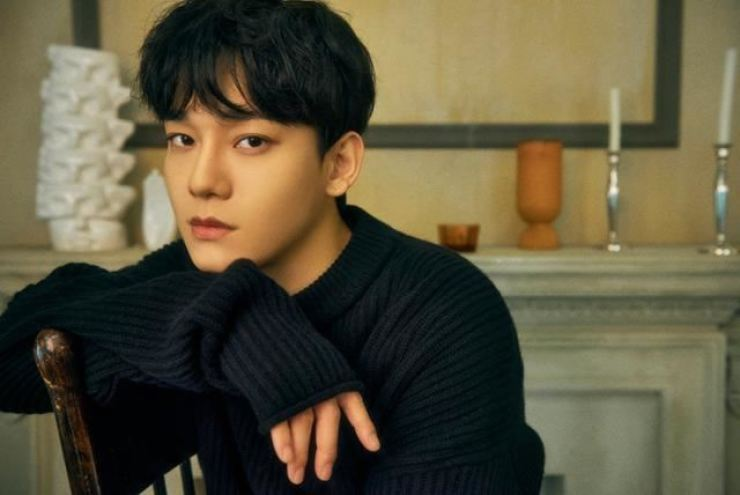 EXO's Chen. Hankook Ilbo