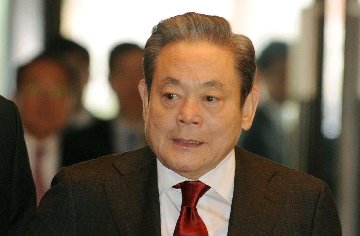 Samsung Chairman Lee Kun-hee / Korea Times file