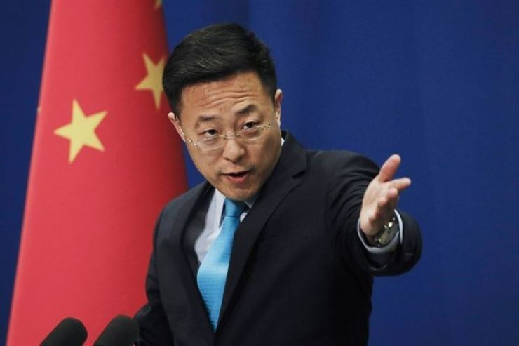 Chinese Foreign Ministry spokesman Zhao Lijian said on Monday:
