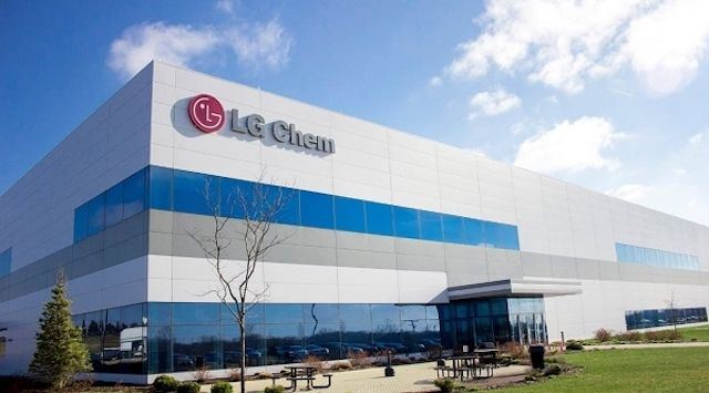 Electric vehicle battery cells of LG Chem and SK Innovation