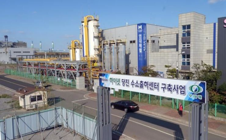 Hyundai Steel's plant in Dangjin, South Chungcheong Province / Courtesy of Hyundai Steel