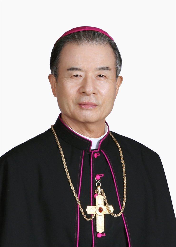Bishop Mathias Lee Yong-hoon, new president of the Catholic Bishop's Conference of Korea / Yonhap