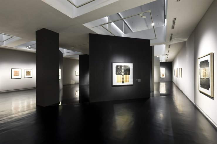 Installation view of Park Re-hyun's retrospective