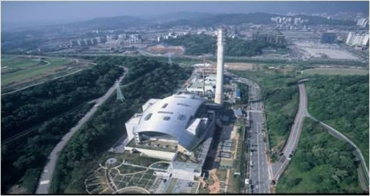 Mapo Waste Resource Recovery Plant is one of Seoul's four incineration plants. Courtesy of Mapo Waste Resource Recovery Plant