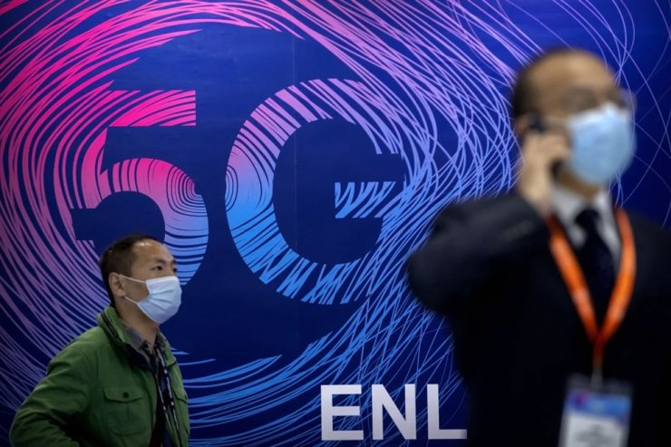 Analysts said that although the 5G base station roll out has been impressive, it was still only a fraction compared with China's huge base of 1.2 billion 4G users. AP
