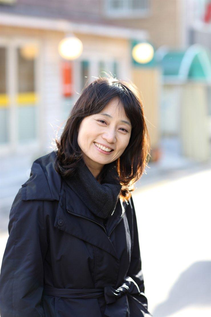 Author Ha Seong-nan. Korea Times file