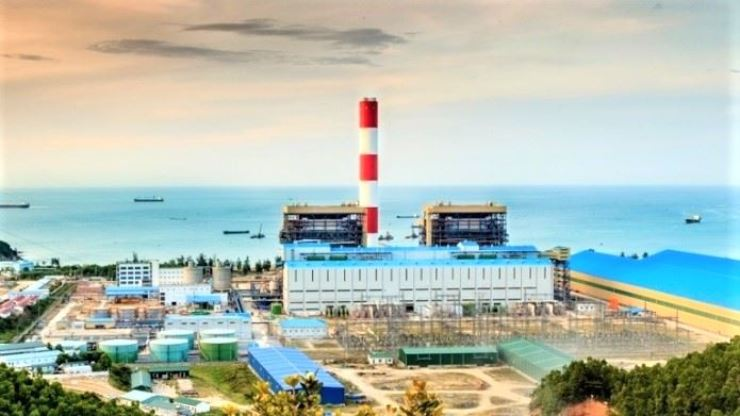 A graphic image of Vietnam's new Vung Ang 2 coal power plant in Ha Tinh Province, last updated on BankTrack's website in October 2020. Korea's Samsung C&T and Korea Electric Power Corporation (KEPCO) joined the power plant's construction project, prompting backlash from South Korean politicians and environmental activists for committing 'unethical' anti-green investment. Courtesy of BankTrack
