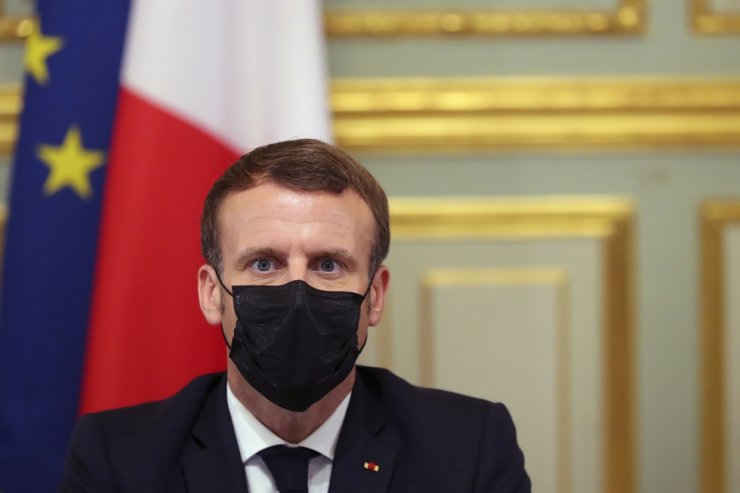 French President Macron to Muslims: I hear your anger, but won't accept  violence
