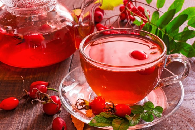 Turkish Rosehip tea is rich in Vitamin C and is recommended for fighting bone and joint inflammation. / Courtesy of Turkish Ministry of Culture and Tourism