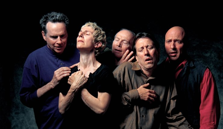 'The Quintet of the Astonished' (2000) by Bill Viola / Courtesy of Busan Museum of Art