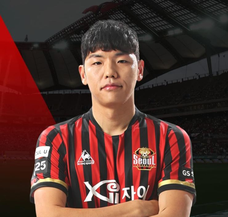 FC Seoul defender Kim Nam-chun / Captured from FC Seoul webpage
