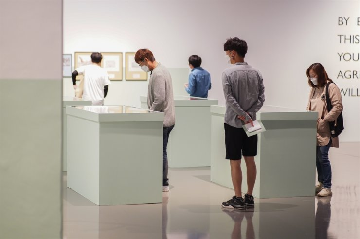 Busan Biennale, held from September to November, was one of the few international art events that opened despite the COVID-19 pandemic. Courtesy of Busan Biennale.