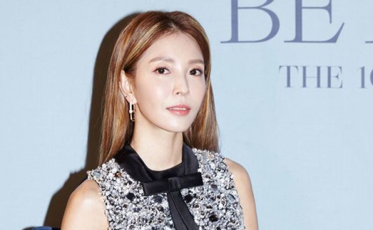 K-pop diva BoA during an online press conference held before the release of her 10th full-length album